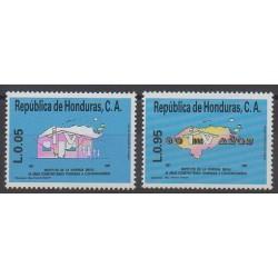 Honduras - 1987 - Nb 275/276