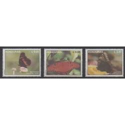 Honduras - 1992 - No 287/289 - Insectes