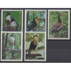 Honduras - 1997 - No 291/295 - Oiseaux