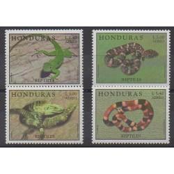 Honduras - 1998 - Nb PA961/PA964 - Reptils