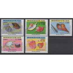 Honduras - 2004 - No PA1172/PA1176 - Animaux marins