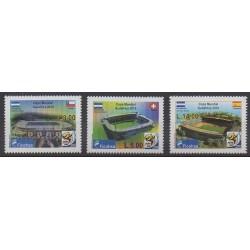 Honduras - 2010 - Nb PA1346/PA1348 - Soccer World Cup