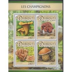 Djibouti - 2017 - No 1364/1367 - Champignons