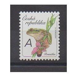 Czech (Republic) - 2016 - Nb 814 - Reptils - Flowers
