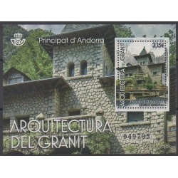 Spanish Andorra - 2017 - Nb F448 - Architecture