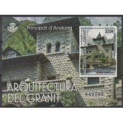 Andorre espagnol - 2017 - No F448 - Architecture