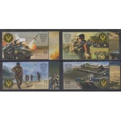 Kirghizistan (Express post) - 2017 - No 64/67 - Histoire militaire