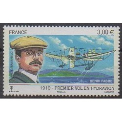 France - Airmail - 2010 - Nb PA73 - Planes