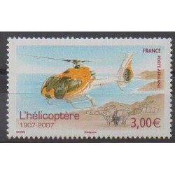 France - Airmail - 2007 - Nb PA70 - Helicopters
