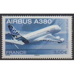 France - Airmail - 2006 - Nb PA69 - Planes