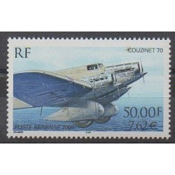 France - Airmail - 2000 - Nb PA64 - Planes