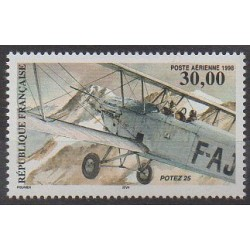 France - Airmail - 1998 - Nb PA62 - Planes