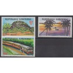 Gabon - 1984 - No 569/571 - Tourisme