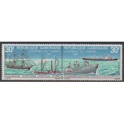 Gabon - 1967 - Nb 224A - Postal Service - Boats
