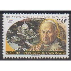 Gabon - 1999 - Nb 984 - Pope