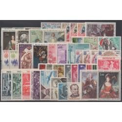Monaco - complete year - 1972 - Nb 867/915