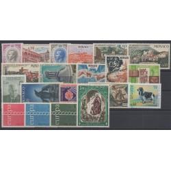 Monaco - complete year - 1971 - Nb 847/866