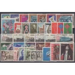 Monaco - complete year - 1968 - Nb 736/771