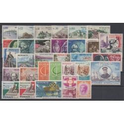 Monaco - complete year - 1966 - Nb 677/707
