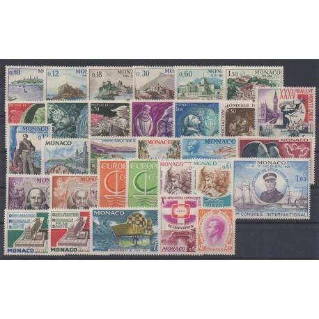 Monaco - année complète - 1966 - No 677/707
