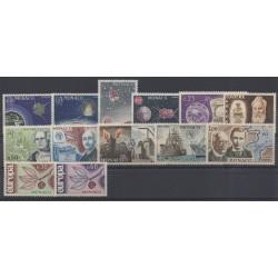 Monaco - année complète - 1965 - No 664/676