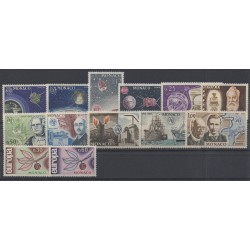 Monaco - complete year - 1965 - Nb 664/676