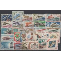 Monaco - complete year - 1964 - Nb 636/663
