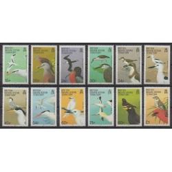 Océan Indien - 1990 - No 94/105 - Oiseaux