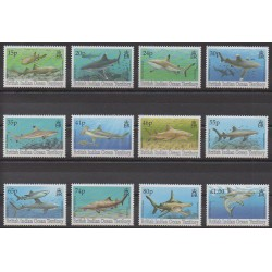 British Indian Ocean Territory - 1994 - Nb 153/164 - Sea animals