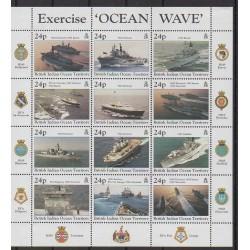 Océan Indien - 1997 - No 195/206 - Histoire militaire