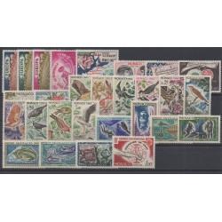 Monaco - complete year - 1962 - Nb 571/598