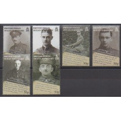 British Indian Ocean Territory - 2008 - Nb 405/410 - First World War
