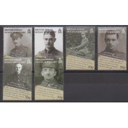 Océan Indien - 2008 - No 405/410 - Première Guerre Mondiale