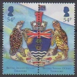 British Indian Ocean Territory - 2014 - Nb 492/493 - Coats of arms