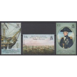 British Indian Ocean Territory - 2005 - Nb 335/337 - Military history