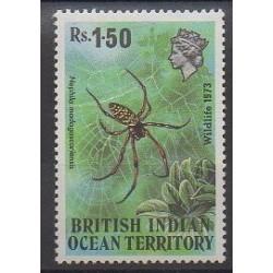 Océan Indien - 1973 - No 55 - Insectes