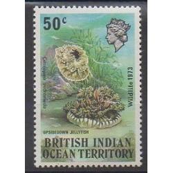 Océan Indien - 1973 - No 54 - Animaux marins