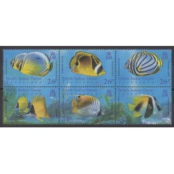 British Indian Ocean Territory - 2006 - Nb 356/361 - Sea animals