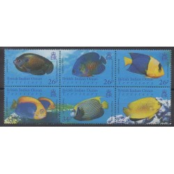 British Indian Ocean Territory - 2006 - Nb 350/355 - Sea animals