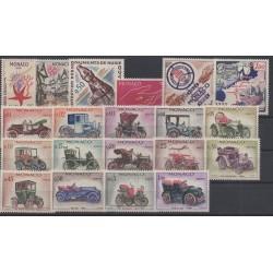 Monaco - année complète - 1961 - No 551/570