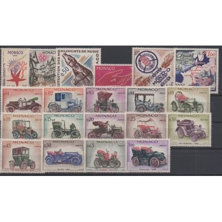Monaco - complete year - 1961 - Nb 551/570