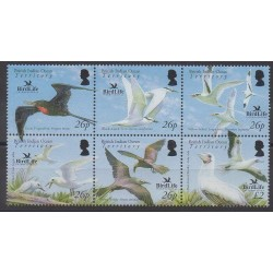 Océan Indien - 2006 - No 362/367 - Oiseaux - Espèces menacées - WWF