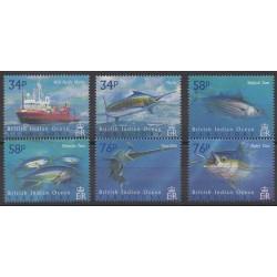 Océan Indien - 2004 - No 283/288 - Animaux marins