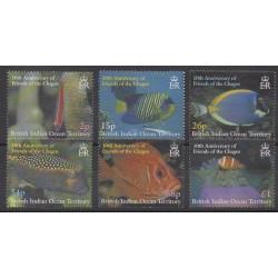 Océan Indien - 2002 - No 250/255 - Animaux marins