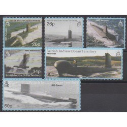 British Indian Ocean Territory - 2001 - Nb 234/239 - Boats