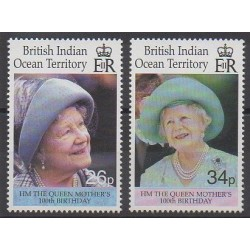 British Indian Ocean Territory - 2000 - Nb 229/230 - Royalty
