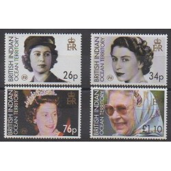 British Indian Ocean Territory - 2006 - Nb 346/349 - Royalty