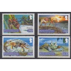 Océan Indien - 2004 - No 301/304 - Animaux marins