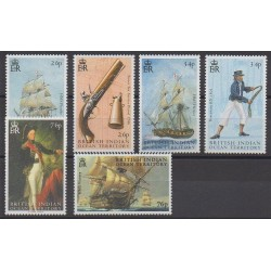 British Indian Ocean Territory - 2005 - Nb 311/316 - Military history