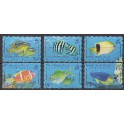 Océan Indien - 2008 - No 388/393 - Animaux marins
